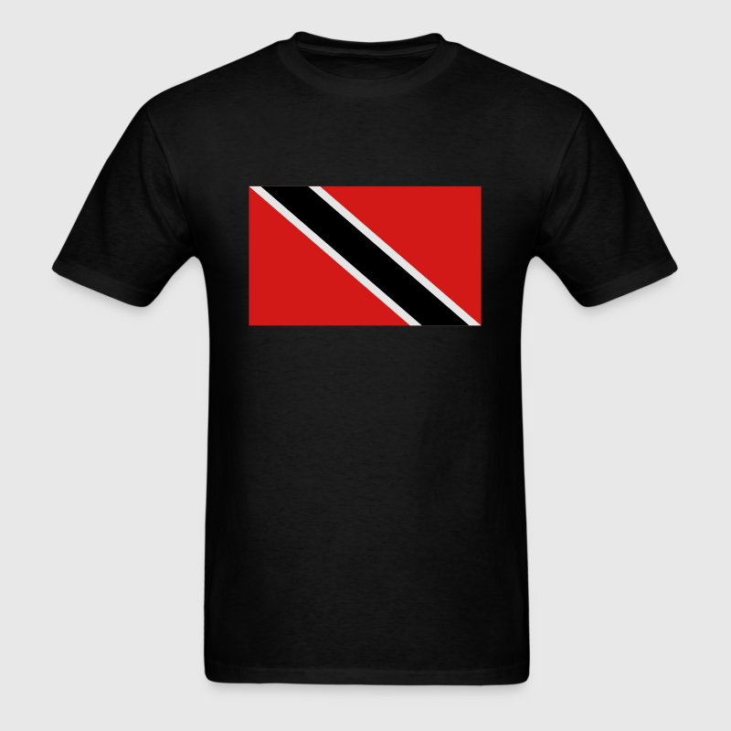 Black trinidad and tobago T-Shirts - Men's T-Shirt