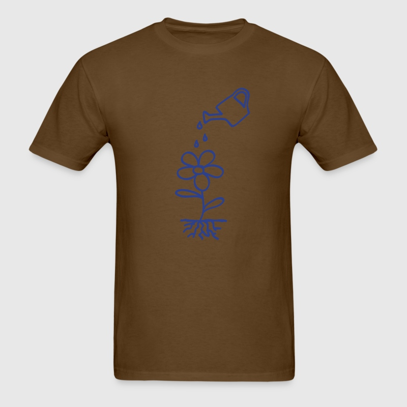 Brown flower water environment T-Shirts - Men's T-Shirt