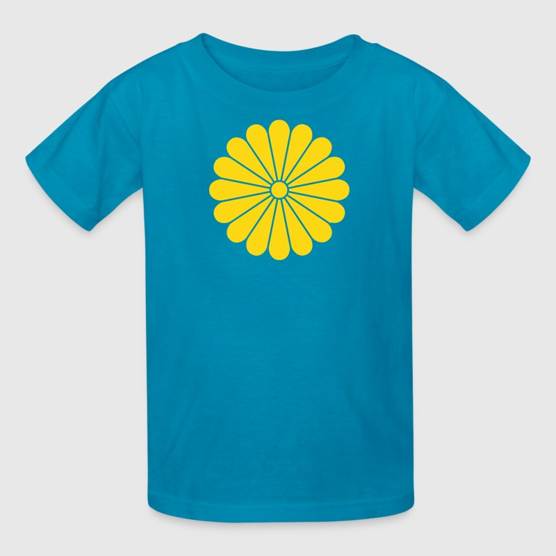 Yellow chrysanthemum Kids' Shirts - Kids' T-Shirt