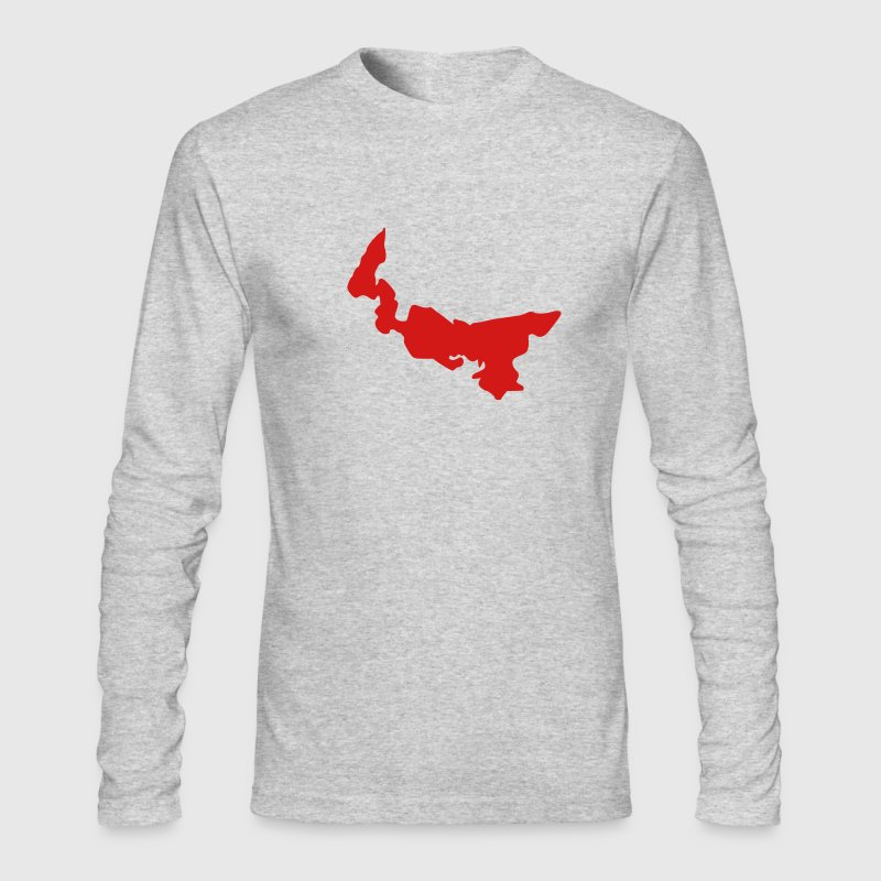 Kelly green Canada - Prince Edward Island Long Sleeve Shirts - Men's Long Sleeve T-Shirt by Next Level