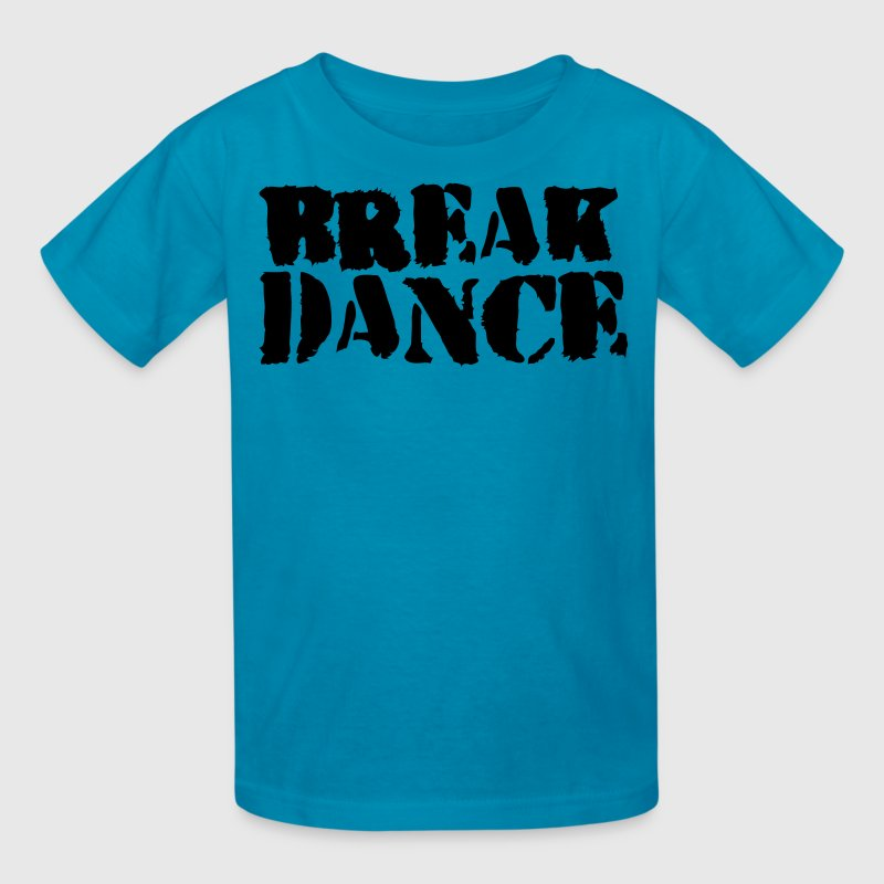 Orange BREAK DANCE GRAFFITI style Kids' Shirts - Kids' T-Shirt