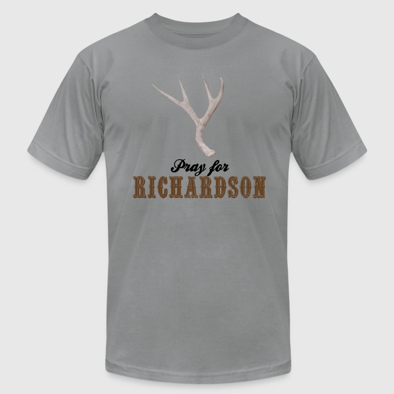 Pray for Richardson - Men's T-Shirt by American Apparel