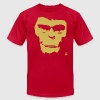 Planet of the Apes Painting T-Shirts - Men's T-Shirt by American Apparel