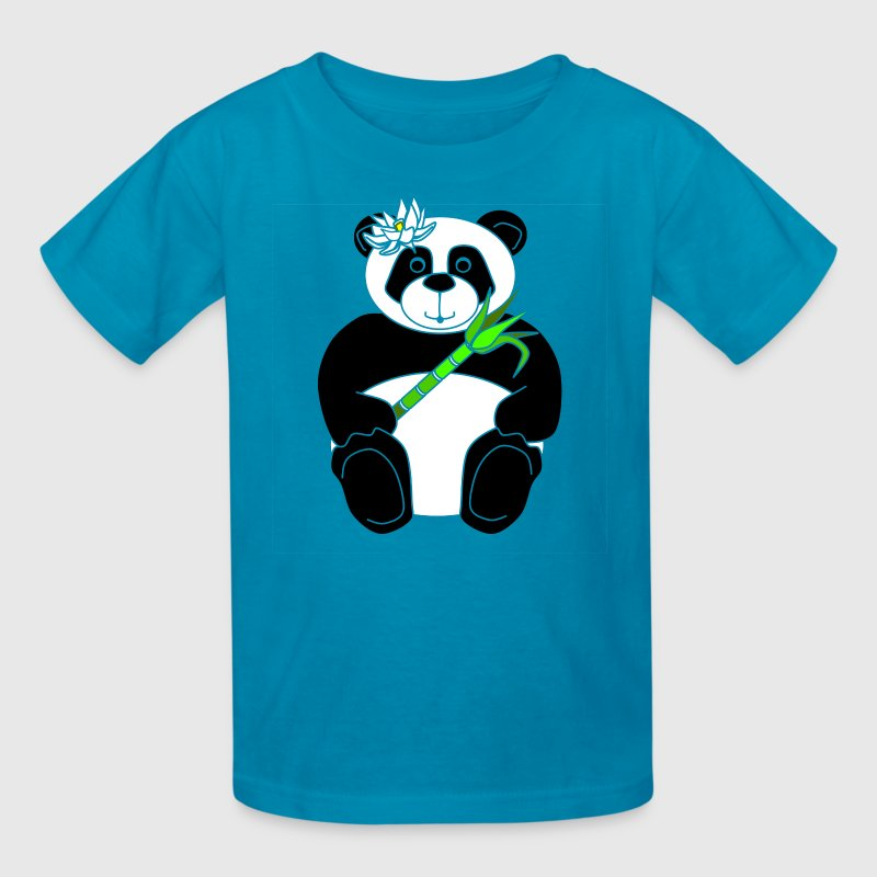 Panda Girl Kid's Tee - Kids' T-Shirt