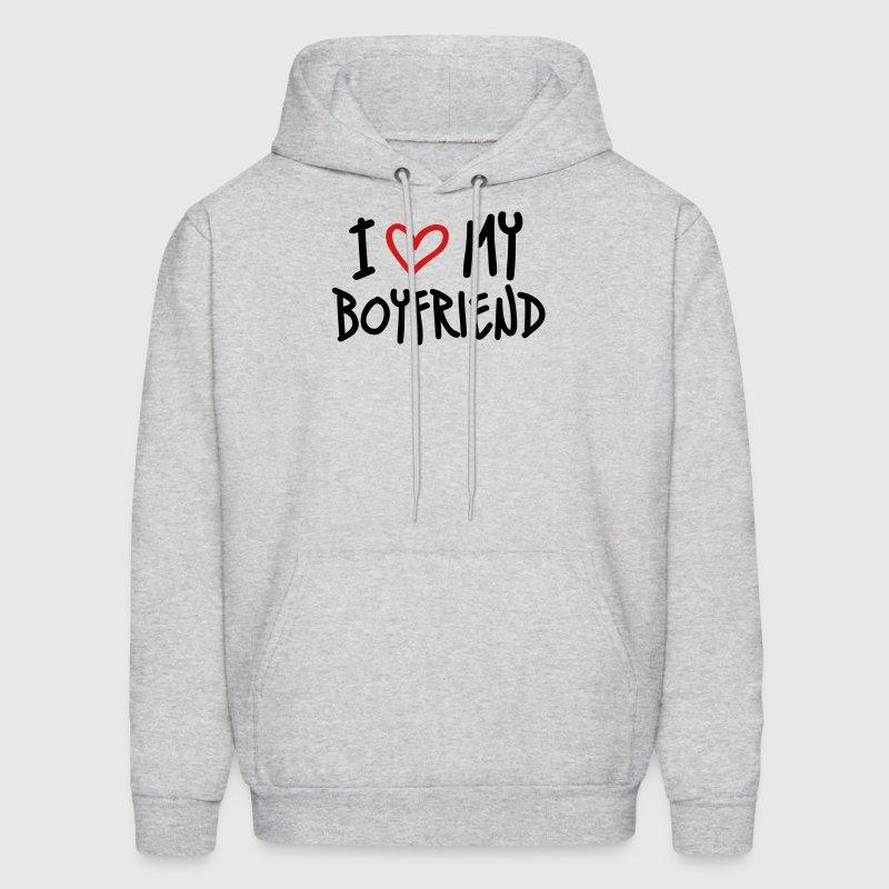 I Love My Boyfriend Hoodie | Spreadshirt