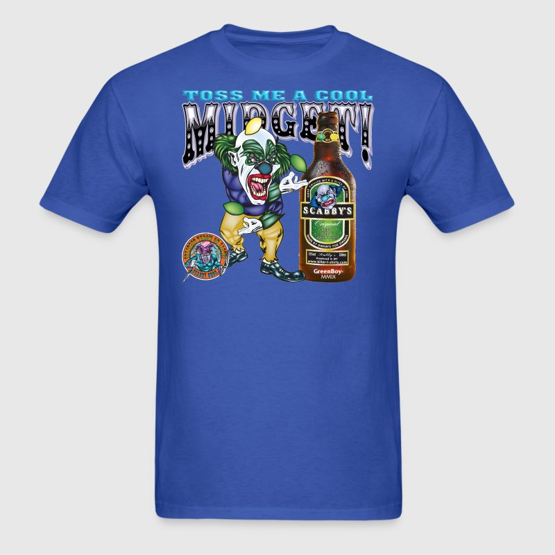 Evil Clown T Shirt Midget Toss - Men's T-Shirt