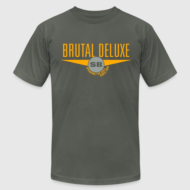 Asphalt Brutal Deluxe T-Shirts - Men's T-Shirt by American Apparel