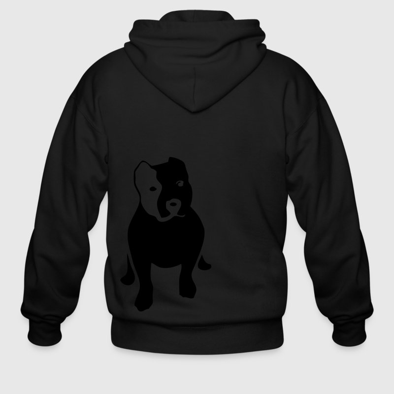 Ash  pitbull Zip Hoodies/Jackets - Men's Zip Hoodie