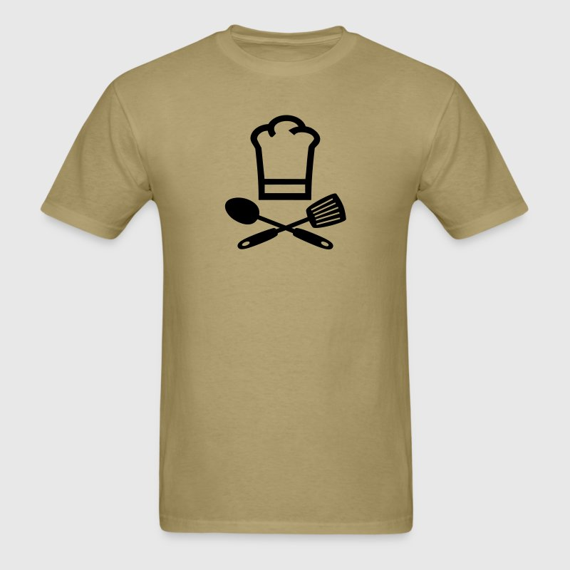 Khaki cooking T-Shirts - Men's T-Shirt