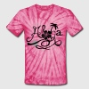 Spider pink Welcome to Hawaii T-Shirts - Unisex Tie Dye T-Shirt