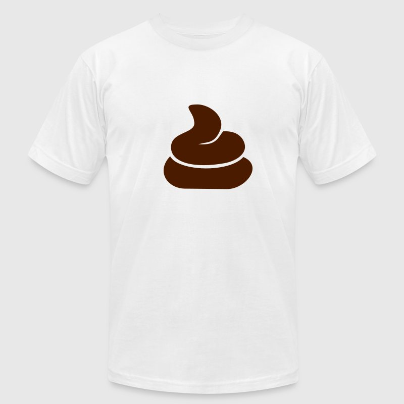 Gold Shit T-Shirts - Men's T-Shirt by American Apparel