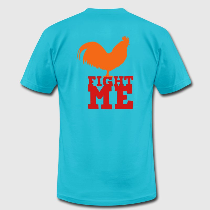Gold Fight me T-Shirts - Men's Fine Jersey T-Shirt