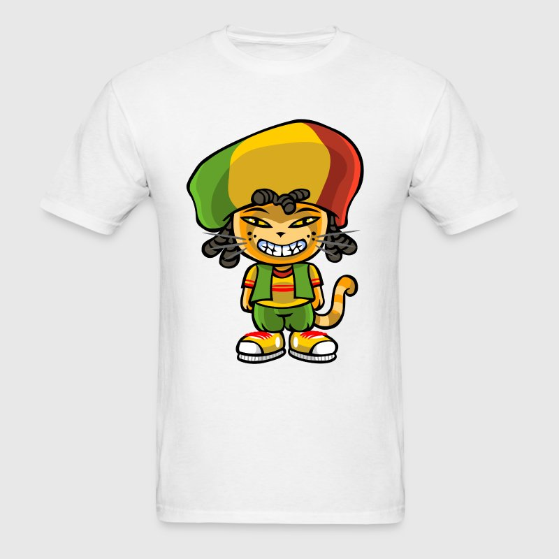 Reggae cat T-Shirts - Men's T-Shirt