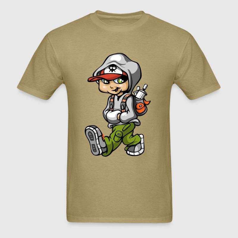 Graffiti boy and bag T-Shirts - Men's T-Shirt