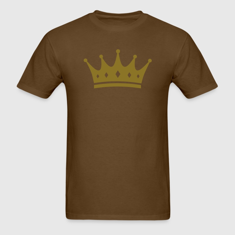 Brown Crown T-Shirts - Men's T-Shirt