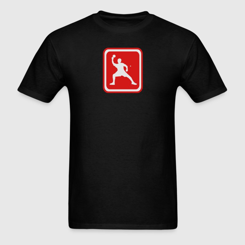 Black table tennis T-Shirts - Men's T-Shirt