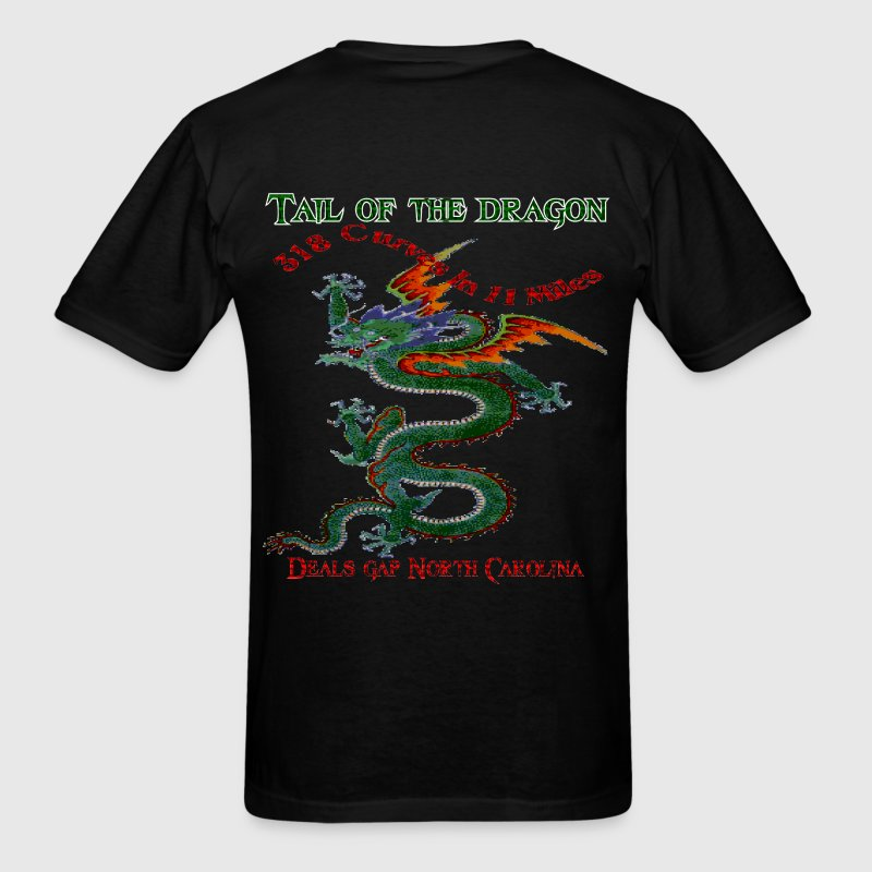 Tail Of The Dragon 4 Design T-Shirts - Men's T-Shirt