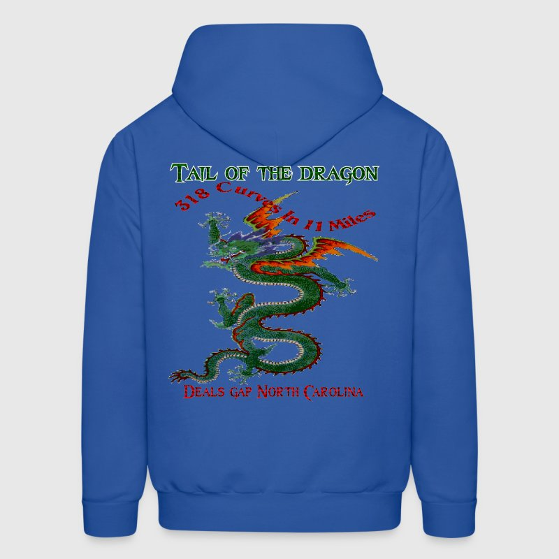 Tail Of The Dragon 4 Design Hoodies - Men's Hoodie