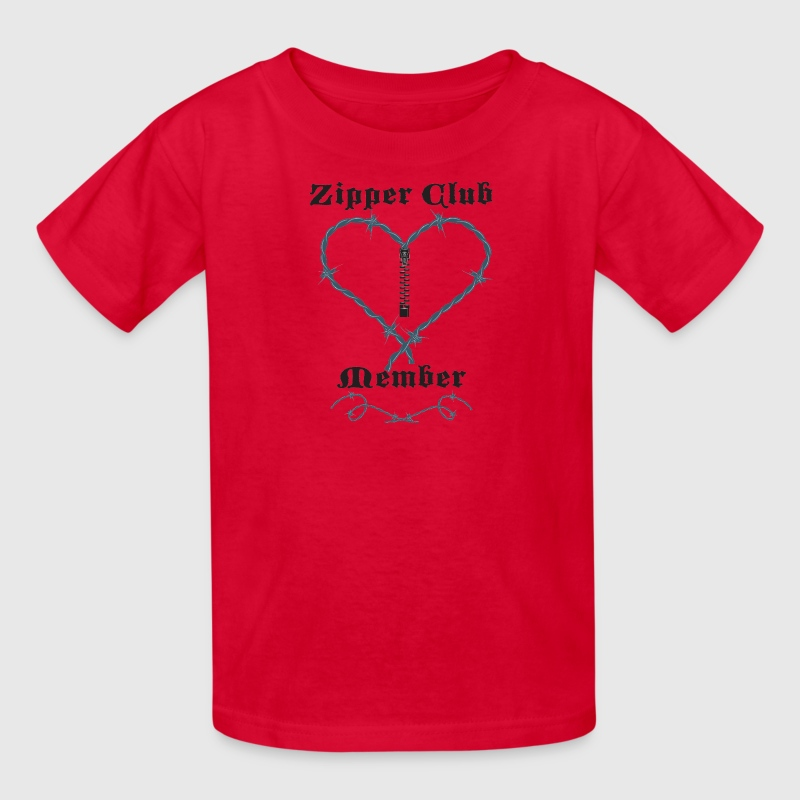 Red Zipper Club Member Kids' Shirts - Kids' T-Shirt