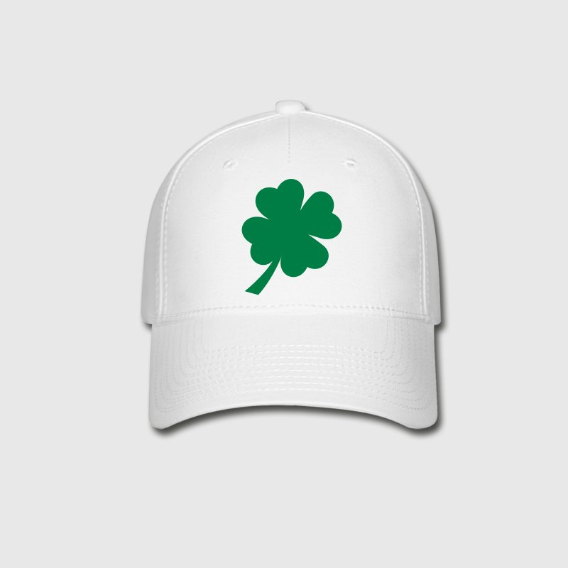 White shamrock green Caps - Baseball Cap