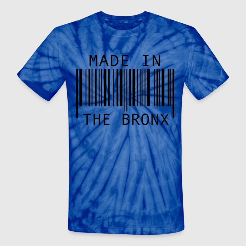 Spider baby blue Made in The Bronx T-Shirts - Unisex Tie Dye T-Shirt