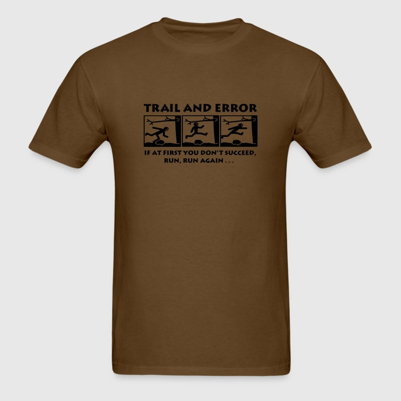 Trail and Error - Men's - Men's T-Shirt
