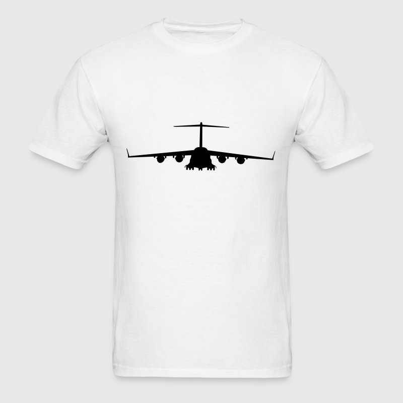 White airplane aircraft T-Shirts - Men's T-Shirt
