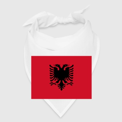 Current Flag of Albania - Bandana