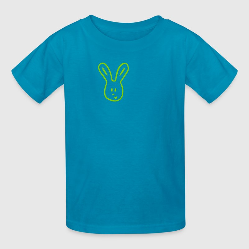 Orange Funny Easter Bunny Kids' Shirts - Kids' T-Shirt
