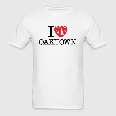 I Hella Love Oaktown - Men's T-Shirt