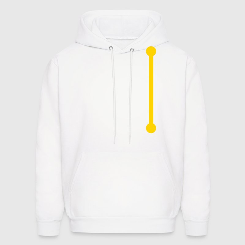 pole upright Hoodies - Men's Hoodie