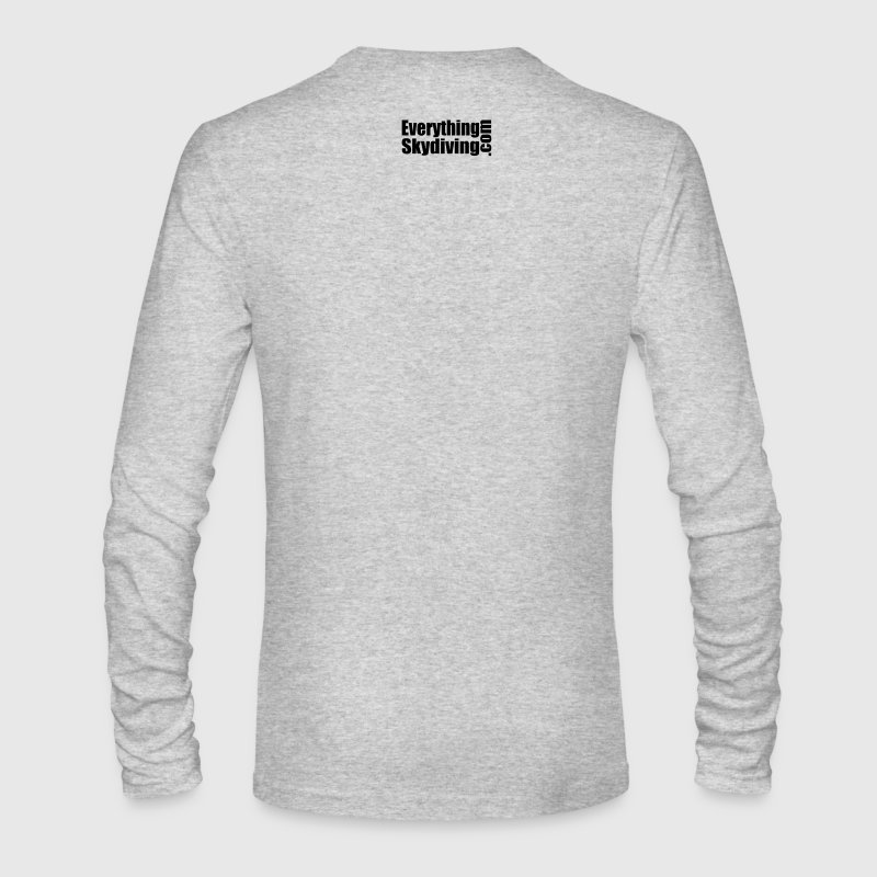Born To Skydive Forced To Work - Men's Long Sleeve T-Shirt by Next Level