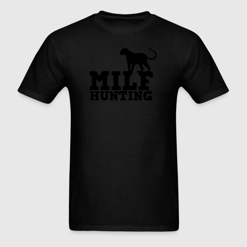 MILF hunting with cougar T-Shirts - Men's T-Shirt