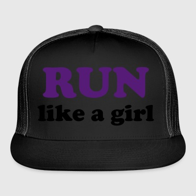 run like a girl Bags  - Trucker Cap