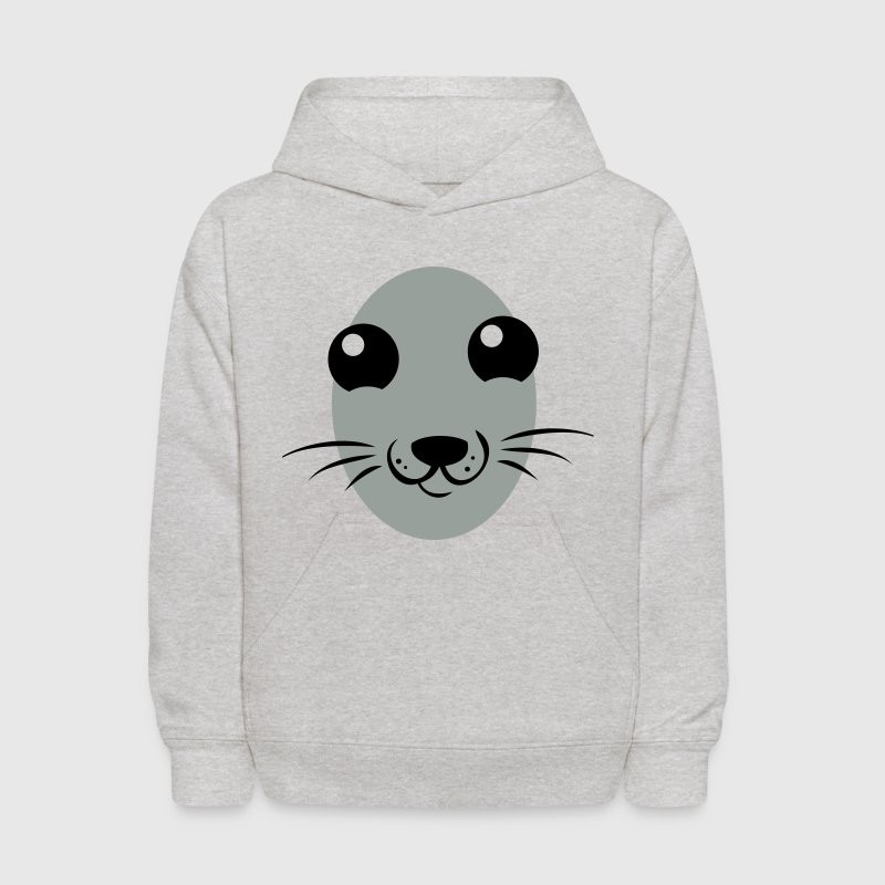 really cute seal face Sweatshirts - Kids' Hoodie