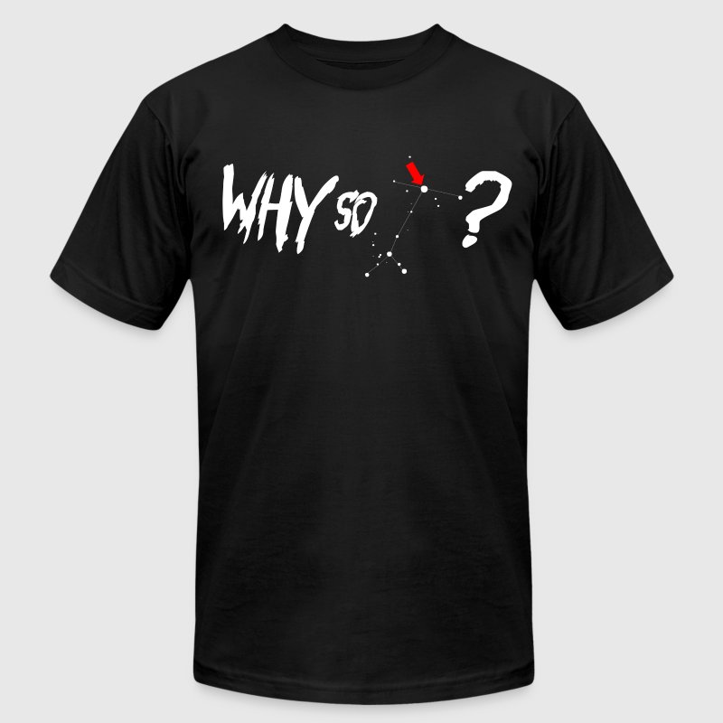 Why So Sirius? White | Mens AA Tee - Men's T-Shirt by American Apparel