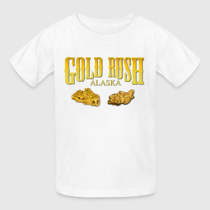Gold Rush Kids' Shirts - Kids' T-Shirt