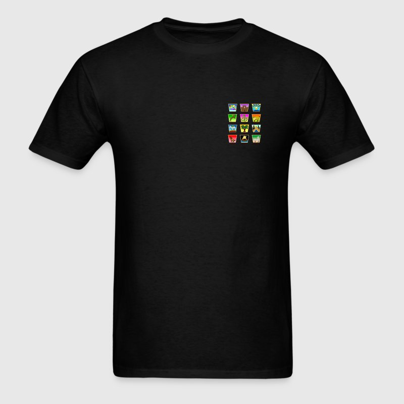 12 Tribes of Israel T-Shirts - Men's T-Shirt