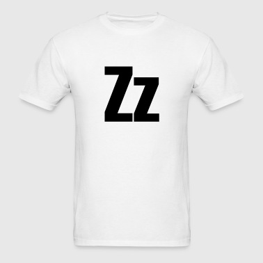 Zz Helvetica Alphabet Tanks - Men's T-Shirt