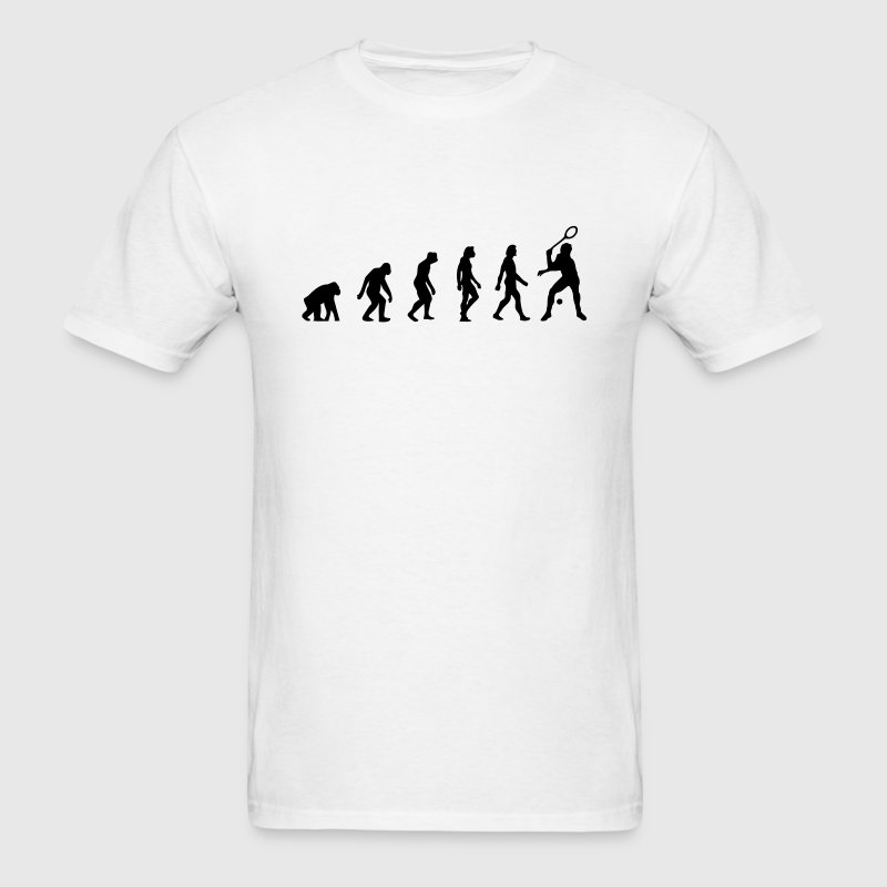 Squash Evolution (1c) T-Shirts - Men's T-Shirt