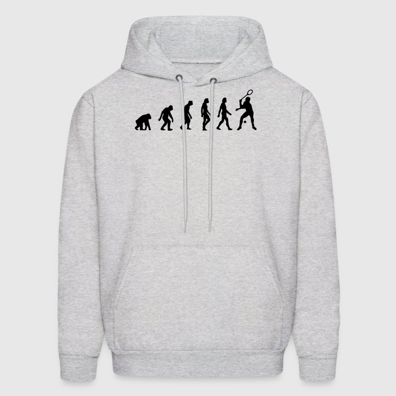 Squash Evolution (1c) Hoodies - Men's Hoodie