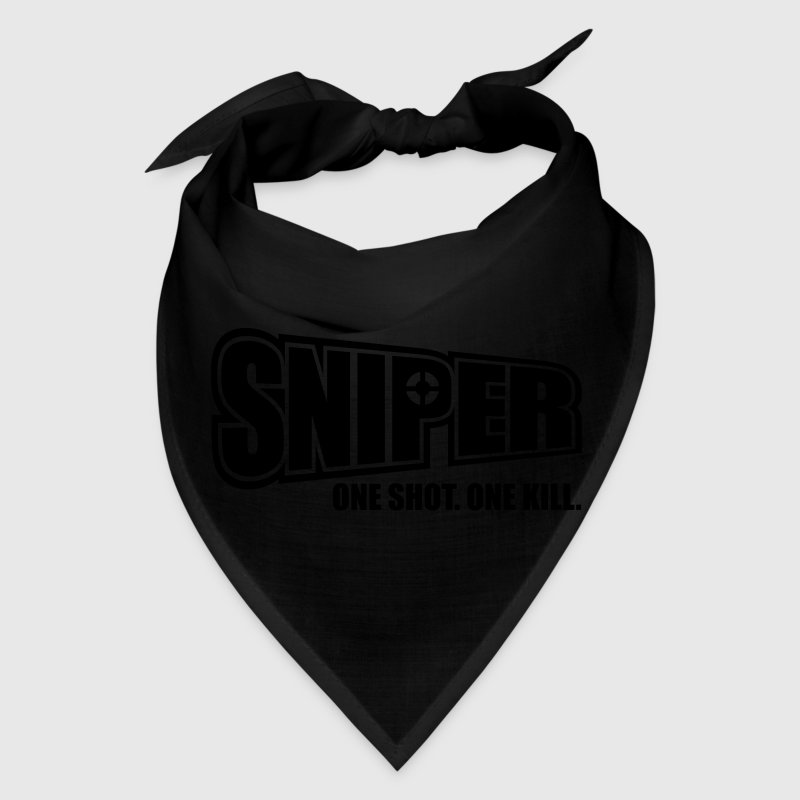 Sniper One Shot One Kill Caps - Bandana