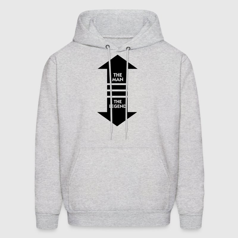 The Man The Legend (1c) Hoodies - Men's Hoodie