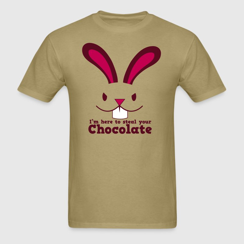 I'm here to steal your chocolate T-Shirts - Men's T-Shirt