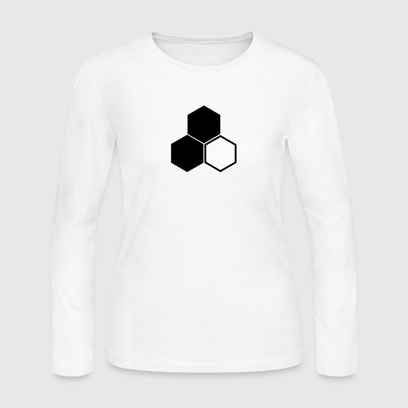 F3 Invisible Woman Logo Long Sleeve Shirts - Women's Long Sleeve Jersey T-Shirt