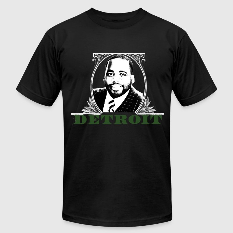 Kwame Dolla Dolla T-Shirts - Men's T-Shirt by American Apparel