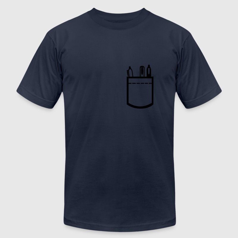 Shirt pocket T-Shirts - Men's T-Shirt by American Apparel