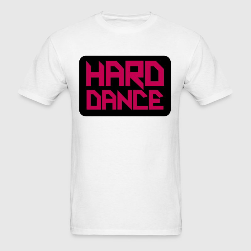 Hard Dance Square T-Shirts - Men's T-Shirt