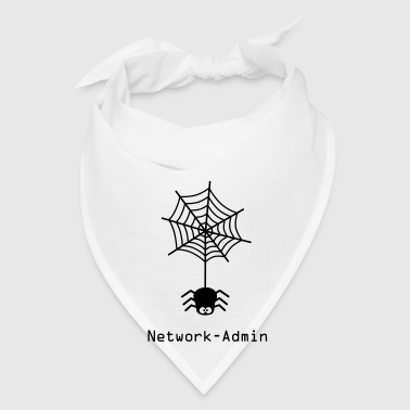 network admin administrator spider net www world wide web pc computer laptop Bags  - Bandana