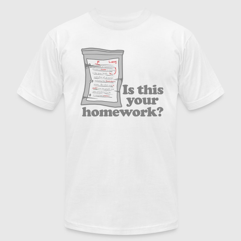 This Your Homework Larry T-Shirts - Men's Fine Jersey T-Shirt